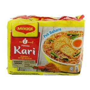 Maggi Kari Instant Noodles 2Minute Original Recipe.(79gx5pcsx6packs)