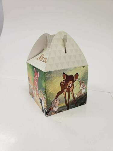 BAMBI PARTY FAVOR BOXES SET of 10