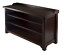 thumbnail 2 - Shoe Storage Bench Wood Cabinet With 3 Shelves For Entryway Hall Mudroom Seating