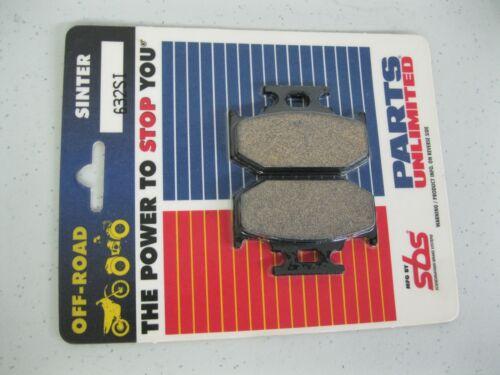 Parts Unlimited Rear Brake Pads Kawasaki 1721-0335 43082-1090 Loc 1235