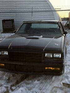 1985 Buick Grand National project car