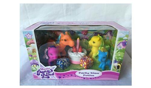 Wonder Pony Land Party Time poneys