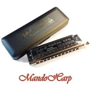 Hohner-Chromatic-Harmonica-7538-48-Toots-Mellow-Tone-12-hole-48-reed-NEW