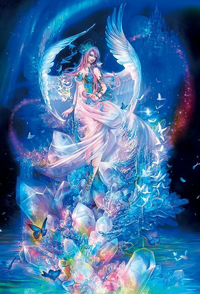 1000peace Puzzle  Arte fantasyc Goddess Of The Cristtuttio (49x72cm) da Giappone  per offrirti un piacevole shopping online