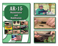 Ar 15 Maintenance, Modification, Disassembly, Clean, Lube, Barrel Change, Dvd