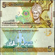 TURKMENISTAN 5 MANAT 2009 P 23 UNC