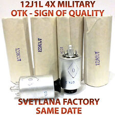 12J1L 12Ж1Л 12SH1L 12Z1L 4X OTK MILITARY Same Date USSR RV12P2000 tubes NEW NOS
