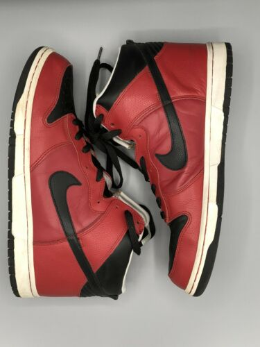 Nike Dunk High Varsity Red Size 11.5