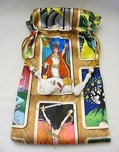 Tarot-Themed-Wicca-Pagan-Tarot-Card-Drawstring-Mojo-Bag-Pouch-FREE-SHIPPING