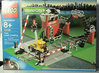 Lego Train 9v World City 10128 Train Level Crossing Sealed