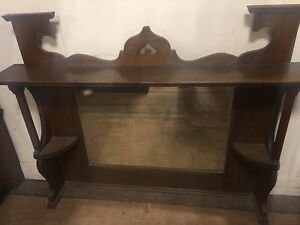Image Is Loading Antique English Arts And Crafts Mission Solid Oak