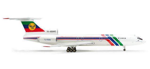 Myanmar airlines tupolev tu-154m (ra-85840), 1200 herpa 554244