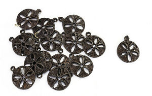 6-PC-Appliques-Patch-Sewing-Dressing-Metal-Indian-Craft-Accessories-Appliques