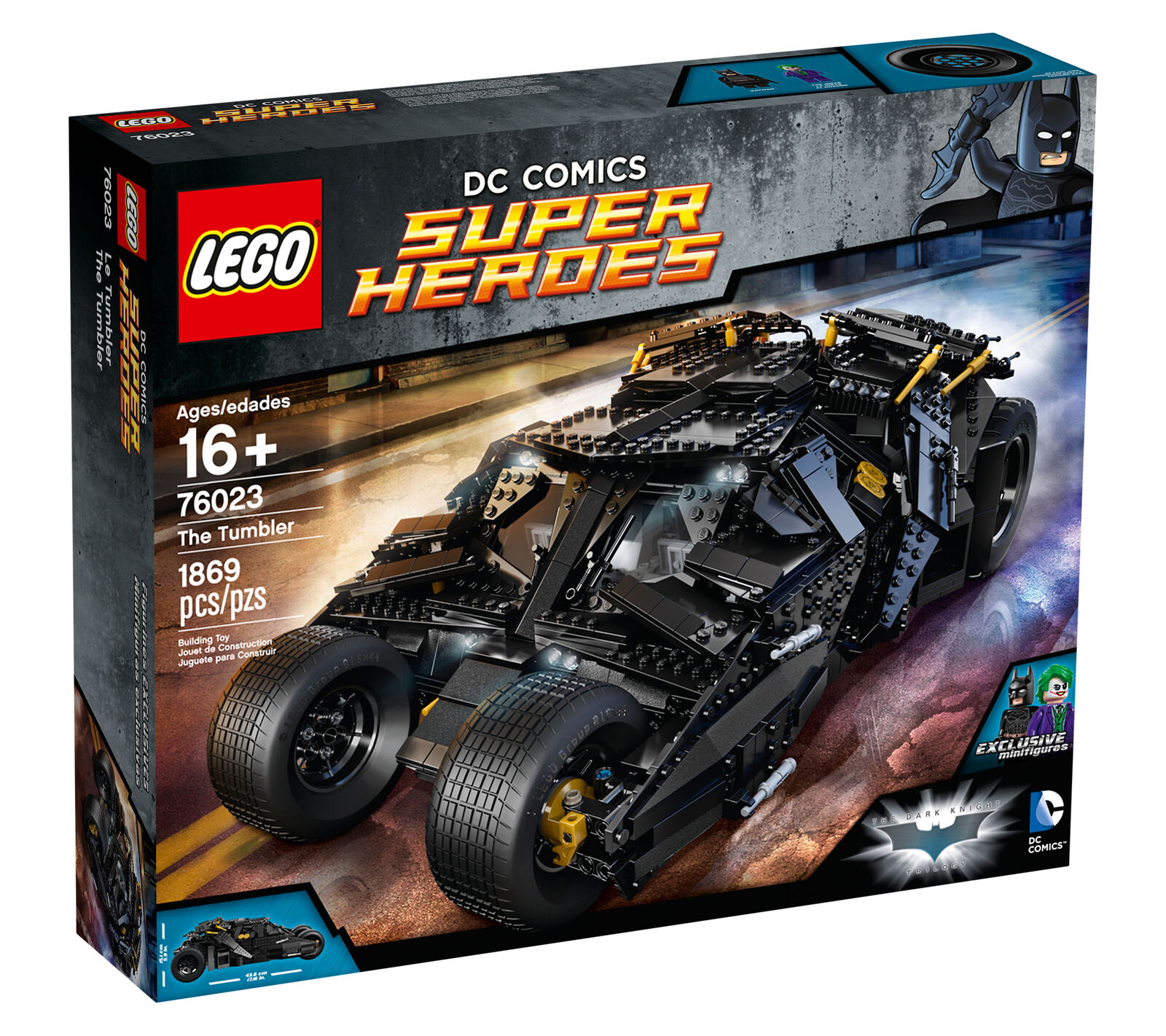 Brand New sealed LEGO Batman The Tumbler set  76023 UCS DC Comics Super Heroes