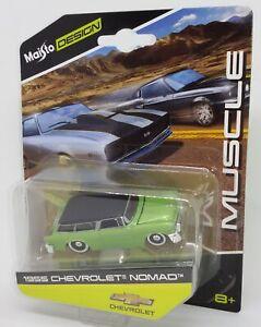 Maisto-Design-1-64-1955-Chevrolet-Nomad-Muscle-Diecast