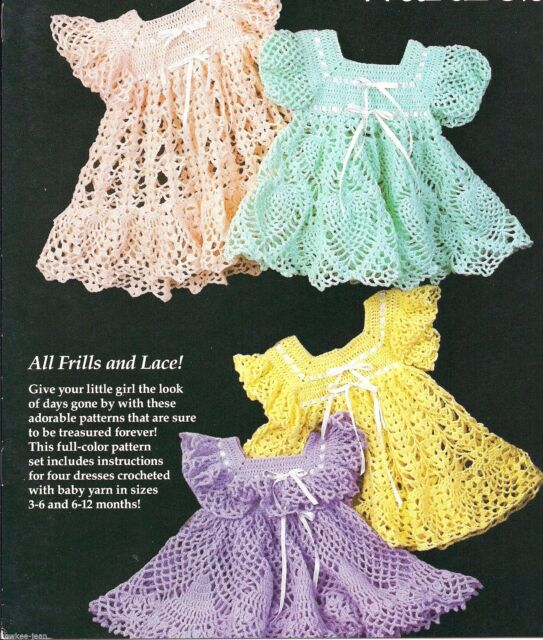 Annies Attic Babys Heirloom Wardrobe Pattern R0202 4 Frilly