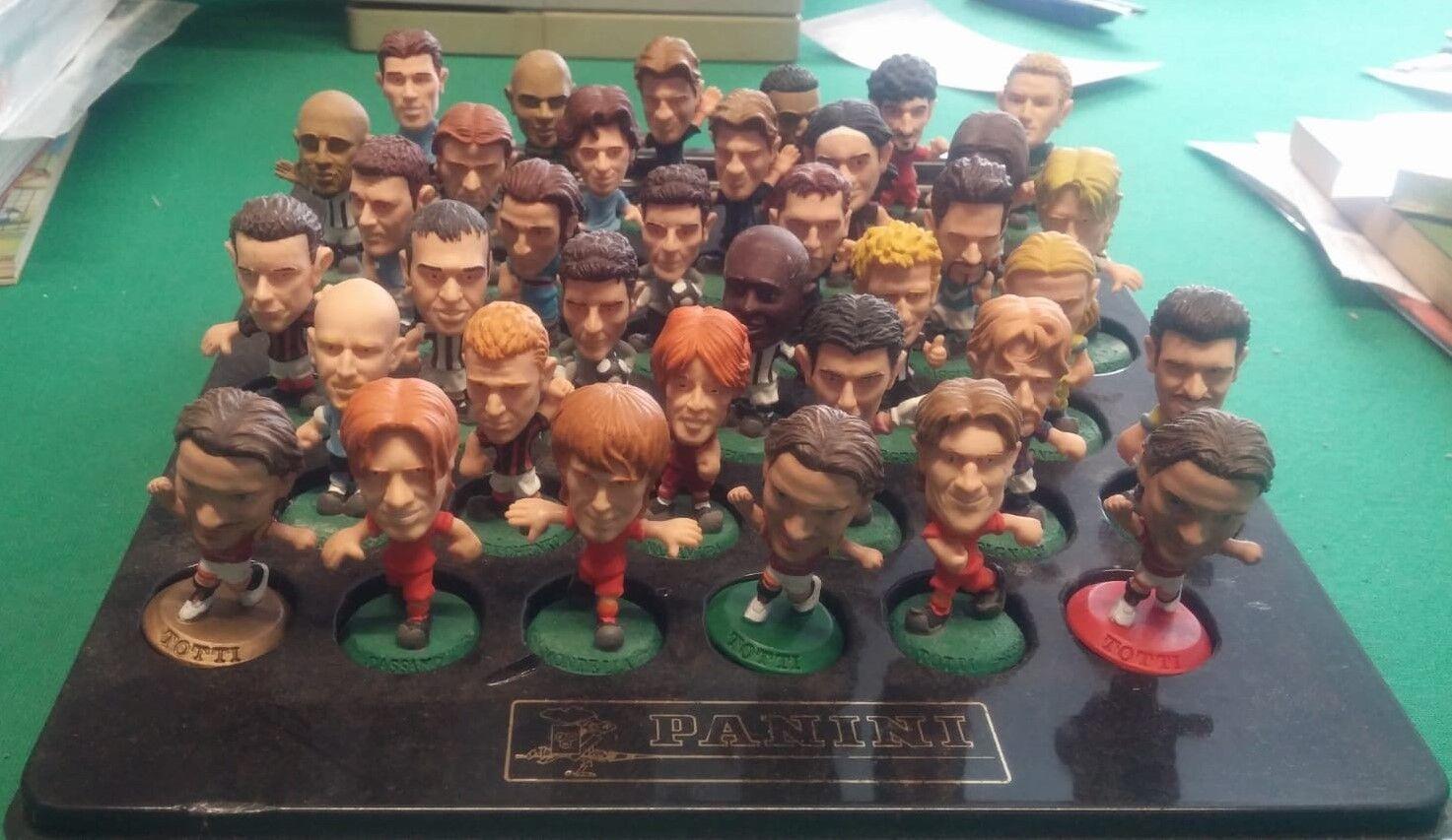 Mega Lot Corinthian Headliners footballers-football Soccer-Vintage Toys