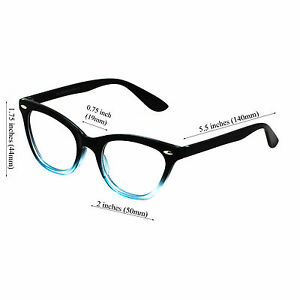 680a236f7a11 FREE BAG-Modern Cat Eye Fashion Retro Clear Lens Plastic Frame Women ...