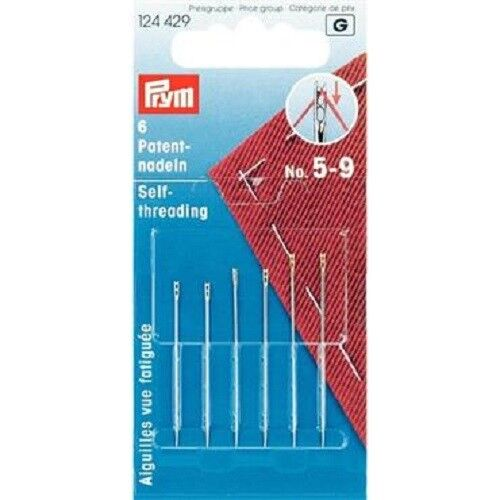 Prym self threading needles No 5-9