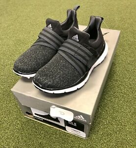 sports shoes d29e1 b8622 Details about Adidas W Climacool Knit Women's Golf Shoe Size 5M Black/Gray
