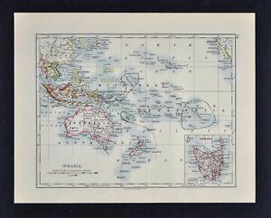 1895 Johnston Map Oceania Australia New Zealand Hawaii ... on fiji vanuatu map, fiji micronesia map, fiji world map with oceans, fiji south pacific, fiji tonga map, fiji australia map, fiji tropical cyclone map, fiji pacific ocean map, fiji hawaii map, fiji bora bora, fiji indonesia map, fiji new zealand map, fiji islands, fiji oceania map,