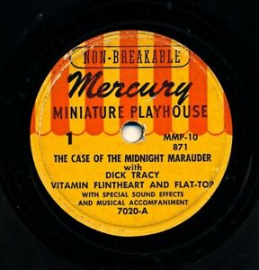 DICK TRACY - Case of the Midnight Marauder with Vitamin Flintheart and Flat-Top