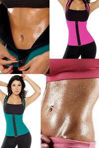 Femmes plus taille minceur corset néoprène sauna yoga costume gym débardeur pour femmes uk-afficher le titre d`origine mOICVo8r-07135659-828970372