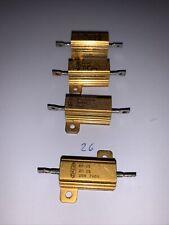 Dale Non Inductive 2 Ohm 25 Watt 1 Tolorence Resistors Nh 25 7849 New Qty 4