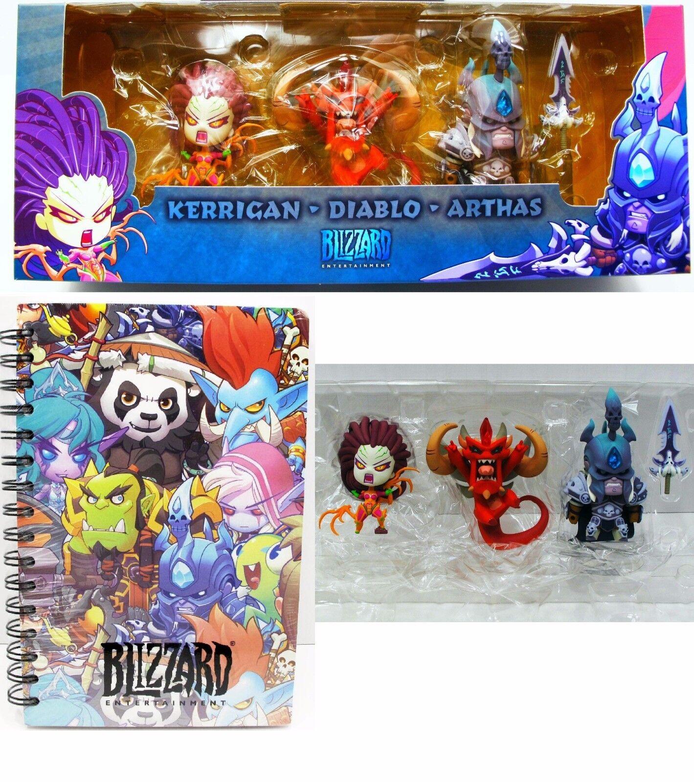 BlizzCon 2013 lindo, pero mortal Kerrigan, Arthas, Diablo estatuilla Set Y Portátil