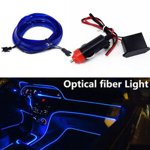 4M-LED-RGB-Charge-Light-Car-Interior-Center-Console-Foot-Decorative-Universal-E