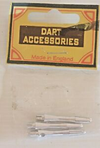 VINTAGE-NEW-OLD-STOCK-SET-OF-3-QUALITY-28mm-METAL-DART-STEMS-MADE-in-ENGLAND