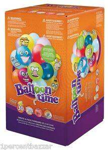 Image is loading Balloon-Time-Helium-Balloon-Kit-Helium-Tank-30-