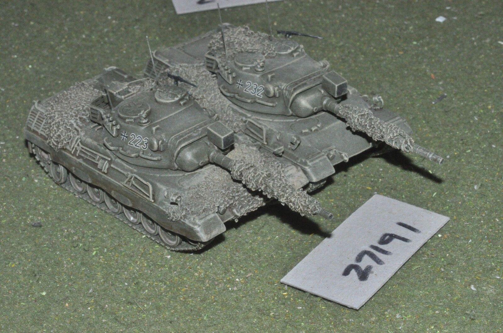 20mm modern   german - 2 tanks - vehicles (27191)