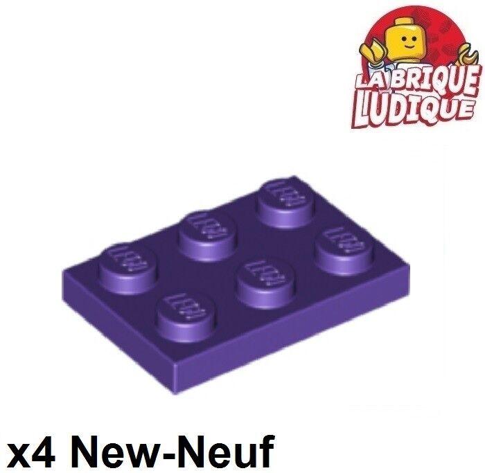 3623 LEGO Platte 1 x 3 10 x alt-hellgrau neu