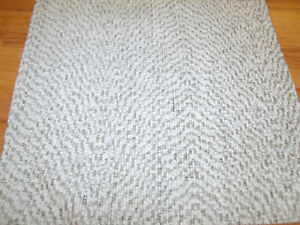 Chenille-upholstery-fabric-color-White-54-wide-by-the-yard-sofa-amp-chair-fabric