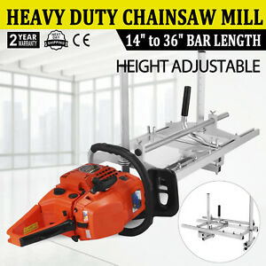 Portable-Chainsaw-Mill-Log-Planking-Milling-Bar-Size-14-034-to-36-034-Lumber-Cutting
