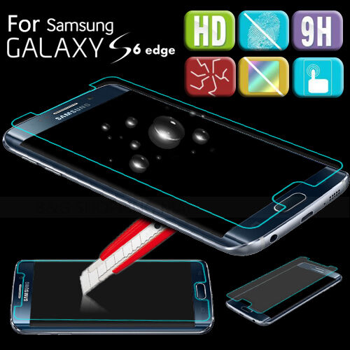 New LCD for Samsung Galaxy Note S 3 4 5 S6 Edge Tempered Glass Screen Protector