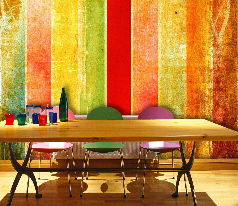 3D Holzfarbe 52 Fototapeten Wandbild Fototapete Bild Tapete Familie Kinder