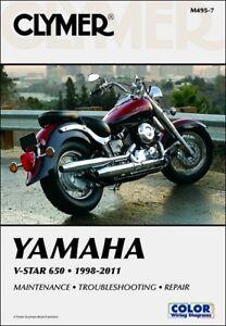1998 2011 yamaha v star vstar xvs 650 classic custom clymer repair rh ebay com 2000 yamaha v star 1100 classic owners manual yamaha v star 1100 shop manual
