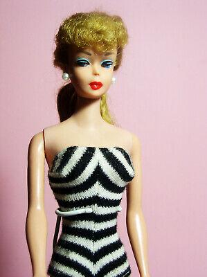 Vintage Ponytail Barbie WHITE SUNGLASSES #850