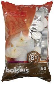 Bolsius-Tealights-8-Hour-Burn-Time-White-Tea-Lights-50-Pack