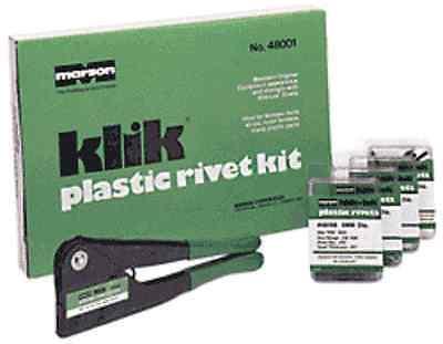 Marson Klik Plastic Rivet Kit - 48001
