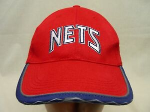 NEW JERSEY NETS - NBA - FOOT LOCKER PROMO - ADJUSTABLE BALL CAP HAT ... ec172129919f