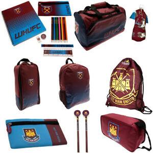931460ca3ab5 West Ham Back To School Gym Bag Backpack Boot Bag Child Boys Girls ...