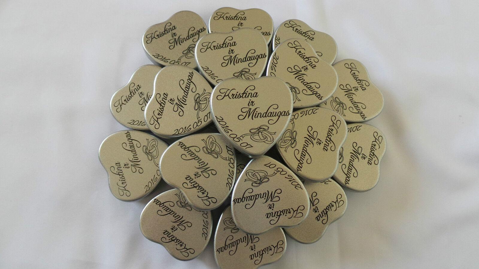 Personalizzati inciso regali di nozze candela cuore inciso Personalizzati REGALO FAVOURS Indiano Pakistan 20a78b