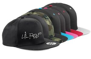 83b84bc03be Snapback Cap hat Lil Peep - LOGO tribute Cry Baby 1996-2017 Hell ...