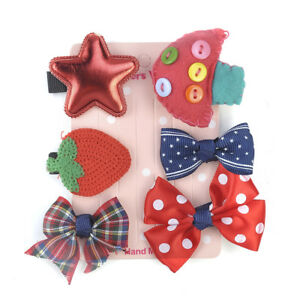 Mini-6Pcs-set-Hairpin-Baby-Girl-Hair-Clip-Bow-Flower-Barrettes-Star-Kids-Infant