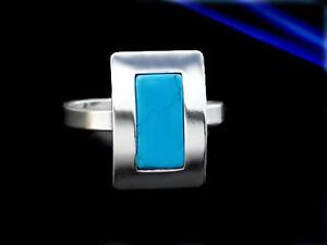 Tuerkis-Silber-925-Ring-verschiedene-Groessen-R040