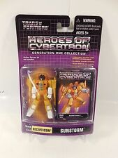 SEALED TRANSFORMERS BOTCON 2004 PREREGISTRATION GIFT G1 COLLECTION SUNSTORM MOC