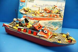 LEGO-City-7906-Feuerwehrschiff-mit-Bauanleitung-N195